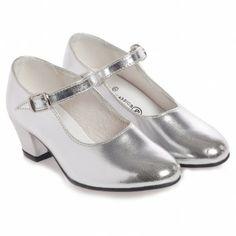 Children's Classics Silver Flamenco Shoes at Childrensalon.com