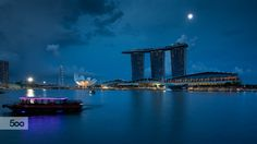 Blue Singapore by Artur Dudka on 500px