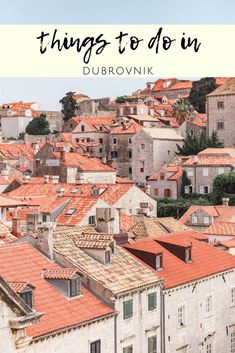 2 days in Dubrovnik Old Town, Travel to Croatia! Dubrovnik Old Town, Dubrovnik Croatia, Croatia Travel, Travel Around Europe, Europe Travel Guide, Travel Guides, Travel Plan, Old Town Temecula, Old Town Square