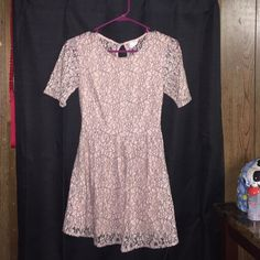 SOLD LOCAL Only worn once. Zips up on the size to get in it easy. one clothing Dresses Midi