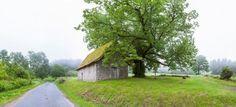 Farmhouse in a field, Chapelle Du Mas Saint Jean, Saint-Sulpice-le-Dunois, Creuse, Limousin, France Poster Print (9 x 27)