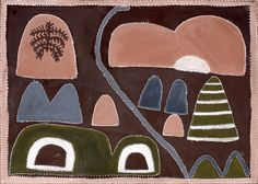 My country - Texas Downs. Queenie McKenzie. natural pigments on canvas. 1998 (from the awesome book you gave us!)