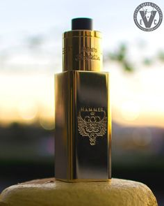 The King has arrived to EVCigarettes!! We're talking about the authentic Hammer of God V3 KING Edition by Vaperz Cloud.    Be one of the first to own this very Limited Edition run on this quad battery(sold separately) box mod.    We are selling our inventory starting with our lowest available serial numbers first in a first come, first serve basis, so act fast!    Serial Numbers available: 55 | 64 | 71 | 102 | 120 | 141 | 190 | 234 | 309