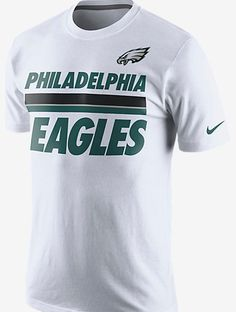 NFL Philadelphia Eagles Nike Men s Team Stripe T-Shirt 72eb51c28