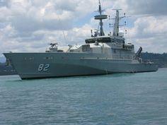 HMAS Hammersley 82