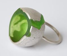 charlotte fontaine - resin, silver