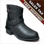 Chippewa Black Motorcycle Boot