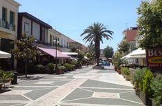 Main square of Amaliada town Ilia Peloponnese Maine, Landscapes, Sidewalk, Paisajes, Walkway, Scenery, Walkways