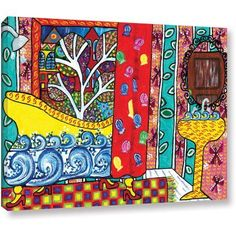 Debra Purcell Reflection Gallery-Wrapped Canvas, Size: 18 x 24, Multicolor