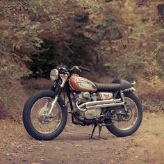 Rad Rau And Her Honda CB360 Scrambler Built By Cb Builds Photo Shot Zachiatrist Croig Caferacersofinstagram