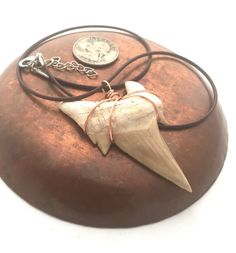 Oversized Shark Tooth Necklace / Men's Shark by CrystalSensation