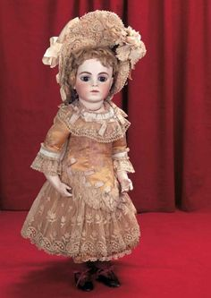 In Perfect Harmony : 171 Splendid French Bisque Bebe by Leon Casimir Bru,Size 9