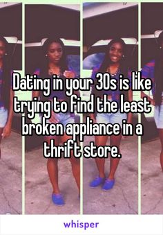 Dating in your 30s funny