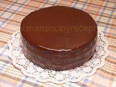Hustá čokoládová poleva Food And Drink, Cakes, Drinks, Drinking, Beverages, Food Cakes, Drink, Pastries, Torte