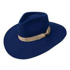 7aea277b330 Charlie 1 Horse Highway Blue Felt Hat