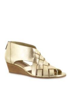Bella-Vita Gold Isabelle Sandal