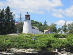 Burnt Island Lighthouse, Maine, July 25, 2012