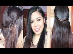 Back to School Hairstyle Kathryn Bernardo Inspired Fishtail Tail Braid Hair Tutorial