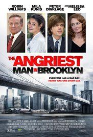The Angriest Man in Brooklyn Poster 2014 Robin Williams played Henry Altmann