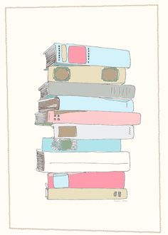 FREE printable book wall art - or use it for filling in the titles of books you read