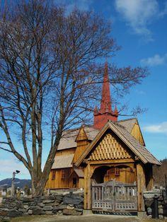Ringebu StavKirke. Her i denne kirken er jeg døpt. This is where I was baptist.