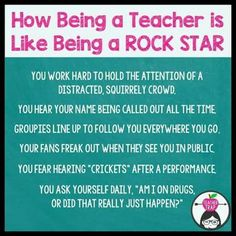 this is hilarious and so true, especially hearing your name ALL THE TIME. - #hearing #hilarious #time #true Education Humor, Education Quotes For Teachers, Quotes For Students, Teacher Humour, Teacher Sayings, Funny Teacher Quotes, Funny Quotes, Teacher Images, Funny Teachers