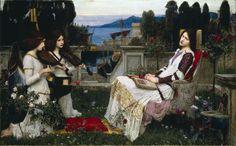 Saint Cecilia - John William Waterhouse - WikiPaintings.org