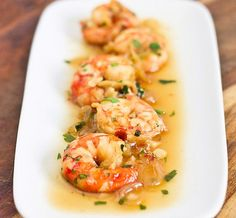 Spicy Drunken Shrimp // wishfulchef.com