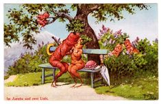 Hey, I found this really awesome Etsy listing at https://www.etsy.com/listing/260092646/vegetable-people-postcard-1936-arthur