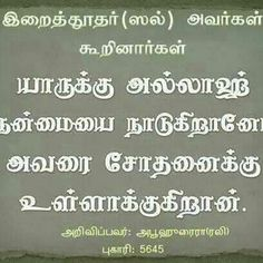 24 Best Islamic Massages In Tamil Images Hadith Islam Quran