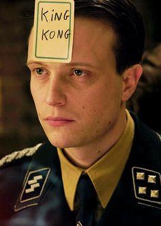 August Diehl as Major Dieter Hellstrom in Inglourious Basterds (2009)