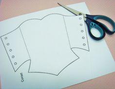 corset tag pattern