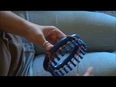Knifty Knitter Blue Round Loom Patterns