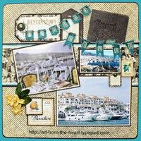 Graphic 45 - A Project by NancyWeth from our Scrapbooking Gallery originally submitted 04/05/12 at 09:38 AM