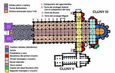 Cluny III -Escuela románica francesa de Borgoña.