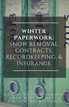 Hiring a snow removal contractor is an expensive undertaking and there are several variables you must consider to ensure that your surfaces are plowed properly and safely. Snow Removal Contract, Shoveling Snow, Facility Management, National Association, Variables, Safety, Surface, How To Remove, Winter