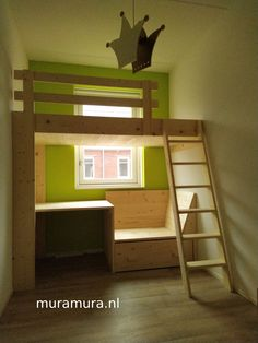 Small Room Design Bedroom, Boys Room Design, Room Decor Bedroom, Tiny House Loft, Cool Dorm Rooms, Small Rooms, Cool Bunk Beds, Small Room Design, Garage Bedroom
