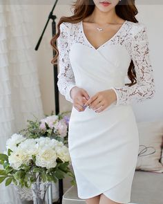 Need to have advice and also great tips on weddings? Civil Wedding Dresses, Formal Dresses For Weddings, Grad Dresses, Classy Outfits, Pretty Outfits, Pretty Lingerie, Groom Dress, Beautiful Dresses, Marie