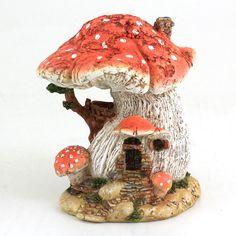 Roter Pilz Fairy Haus