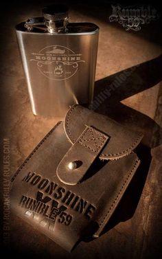 Rumble59 - Moonshiner Flachmann