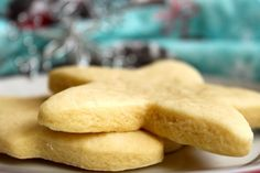 Thick, soft, chewy sugar cookies.