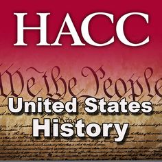 HIST 104: United States History II - Dr. Richard Moss | North...: HIST 104: United States History II - Dr. Richard… #NorthAmericanHistory