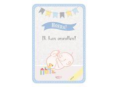 My Happy Moment: Hoera ik kan omrollen! Verkrijgbaar als 18-delige set voor € 9,95 http://www.myhappymoments.nl/home/