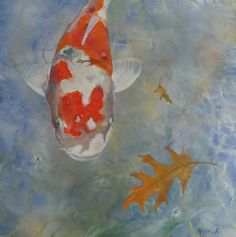 "Floating, too, 2013 Acrylic with spray paint on canvas 24"" x 24"" ©2013NanciHersh. SOLD nancihersh@gmail.com"