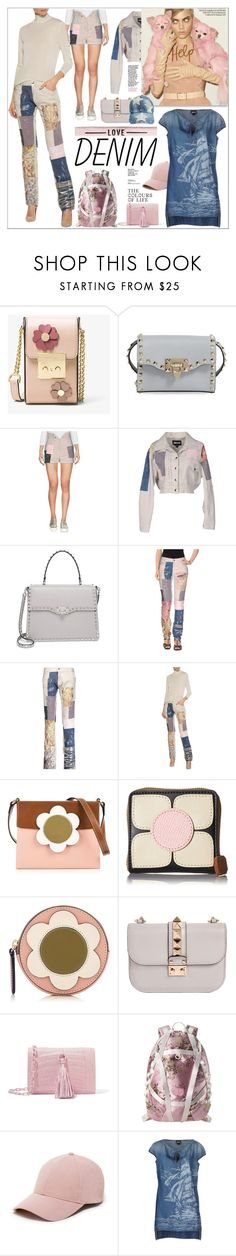 """All Denim, Head to Toe"" by yours-styling-best-friend ❤ liked on Polyvore featuring MICHAEL Michael Kors, Valentino, Just Cavalli, Orla Kiely, Nancy Gonzalez, Puma, Sole Society and Ashley Stewart"