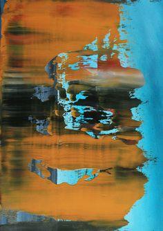 Koen Lybaert; Oil, 2012, Painting abstract N° 489