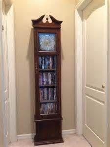 Repurpose Old Grandfather Clock To Dvd Holder Interior Design