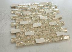1 Marble Mosaic, Mosaic Tiles, Wall Tiles, Glass Marbles, Bathroom Wall, Beige, Backsplash, Broadway, Dreams