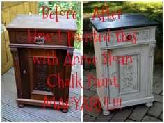 Hogyan fess Annie Sloan chalk paint festékkel. How to use ASCP in hungarian!