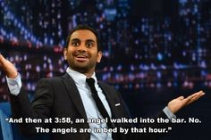 You're probably not going to meet the love of your life at the bar. | 11 Essential Pieces Of Dating Advice From Aziz Ansari